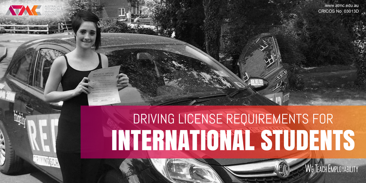 how to get australian driving license overseas student