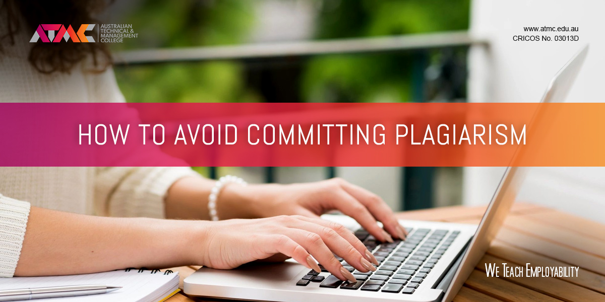 how can you avoid committing plagiarism